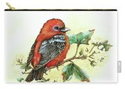 Scarlet Tanager - Summer Season Carry-all Pouch