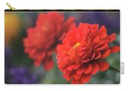 Scarlet Zinnias Carry-all Pouch