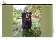 Scarry Potter Scarecrow At Cheekwood Botanical Gardens Carry-all Pouch