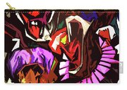 Scary Clowns Abstract Carry-all Pouch