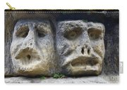 Scary Stone Heads Carry-all Pouch