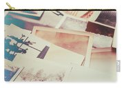 Scattered Collage Of Old Film Photography Carry-all Pouch