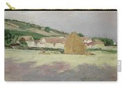 Scene At Giverny, 1890 Carry-all Pouch