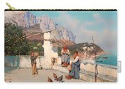 Scene From Capri Carry-all Pouch