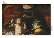 Scene From The Childhood Of Hercules Carry-all Pouch