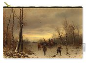 Scene From The Thirty Years War Carry-all Pouch