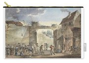 Scene In A Courtyard Carry-all Pouch