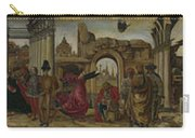 Scenes From The Life Of Saint Vincent Ferrer Carry-all Pouch