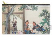 Scenes Of Daily Life Carry-all Pouch