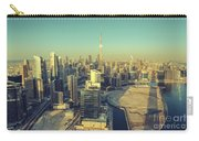 Scenic Aerial View Of Dubai Carry-all Pouch