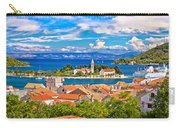 Scenic Island Of Vis Waterfront Carry-all Pouch