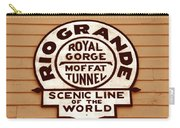 Scenic Line Of The World Carry-all Pouch