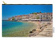 Scenic Mediterranean Beach In Primosten Carry-all Pouch