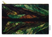 Scenic Stained Glass  Carry-all Pouch