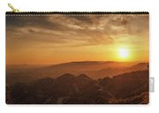 Scenic Sunset Over Hollywood Hills Carry-all Pouch