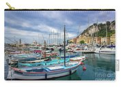 Scenic View Of Historical Marina In Nice, France Carry-all Pouch