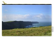 Scenic Views Of The Cliff's Of Moher In Ireland Carry-all Pouch