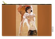 Schiele Semi-nude Girl Reclining 1911 459x311 Cm Egon Schiele Carry-all Pouch