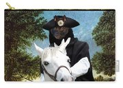 Schipperke Art Canvas Print - The Danube Valley Near Regensburg Carry-all Pouch