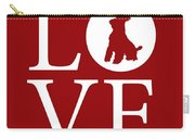 Schnauzer Love Red Carry-all Pouch