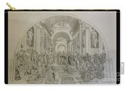 School Of Athens/ Homage To Raphael Carry-all Pouch