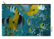 School Of Butterflyfish Carry-all Pouch
