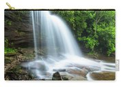 Schoolhouse Falls In Nantahala National Forest Panorama Carry-all Pouch