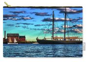 Schooner Adventure At The Paint Factory Carry-all Pouch