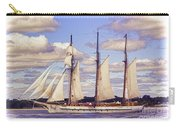 Schooner Mystic Under Sail Carry-all Pouch