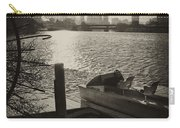 Schuylkill River In Winter Carry-all Pouch