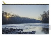 Schuylkill River Sunrise Linfield Pa Carry-all Pouch