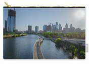 schuylkill River Walk from South Street Bridge Carry-all Pouch