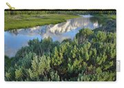 Schwabacher Landing In Grand Teton Carry-all Pouch