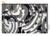 Scissor-cut Abstraction Carry-all Pouch