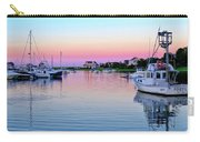 Scituate Harbor Sunset Carry-all Pouch