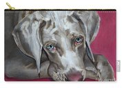 Scooby Weimaraner Pet Portrait Carry-all Pouch