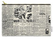 Scopes Trial, 1925 Carry-all Pouch