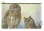Scops Owl By Thorburn Carry-all Pouch