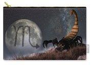 Scorpio Zodiac Symbol Carry-all Pouch