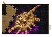 Scorpion Shell Puzzle Carry-all Pouch