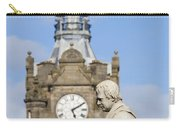 Scott Statue And Balmoral Clock Tower Carry-all Pouch
