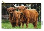 Scottish Highland Cows Carry-all Pouch