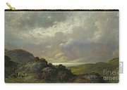 Scottish Landscape Carry-all Pouch by Gustave Dore
