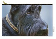Scottish Terrier Dog Carry-all Pouch by Jennie Marie Schell