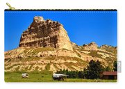 Scotts Bluff National Panoramic Landscape Carry-all Pouch