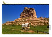 Scotts Bluff Wagon Train Panorama Carry-all Pouch