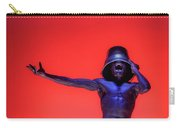 Screaming Dancer On Red Carry-all Pouch