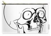 Screaming Skull Carry-all Pouch
