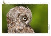 Screech Owl Portrait Carry-all Pouch