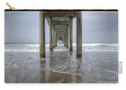 Scripps Pier La Jolla California 4 Carry-all Pouch